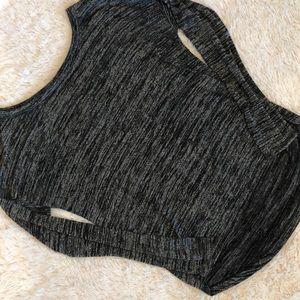 GAP dark gray long sleeve top